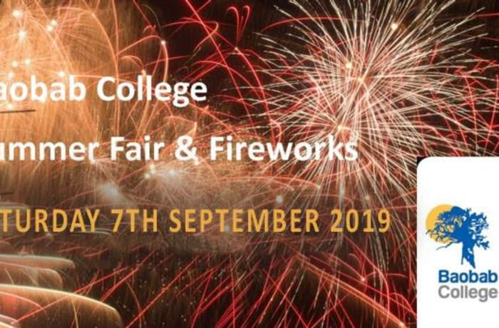 Baobab Summer Fair & Fireworks 2019 image