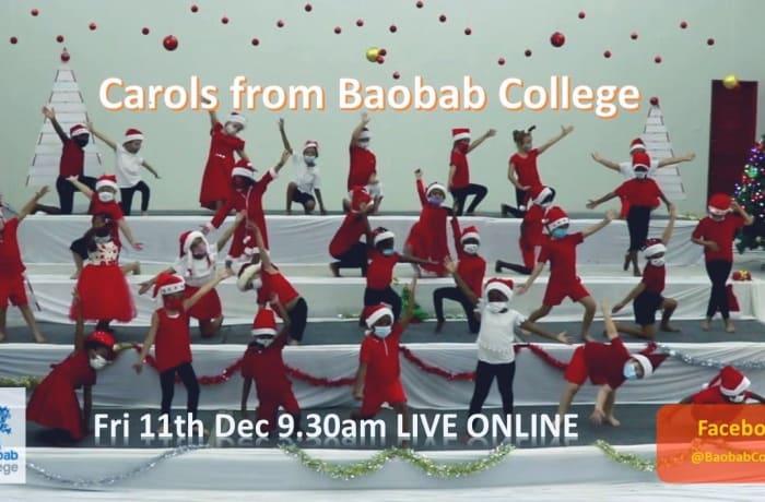 Carols from Baobab College image