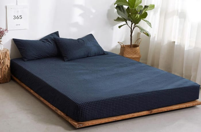 Bed cover sheets 1.5x1.8m  Simmon mattress cover Dark blue - 29043311543