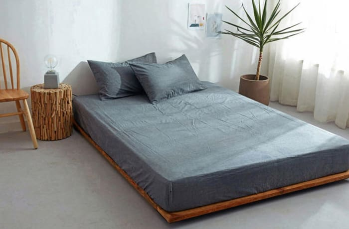 Bed cover sheets 1.5x1.8m  Simmon mattress cover Dark grey - 29043311543