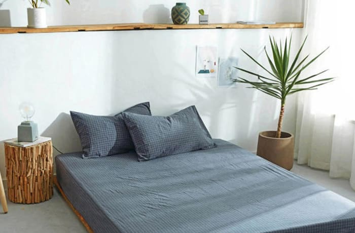 Bed cover sheets 1.5x1.8m  Simmon mattress cover Grey - 29043311543