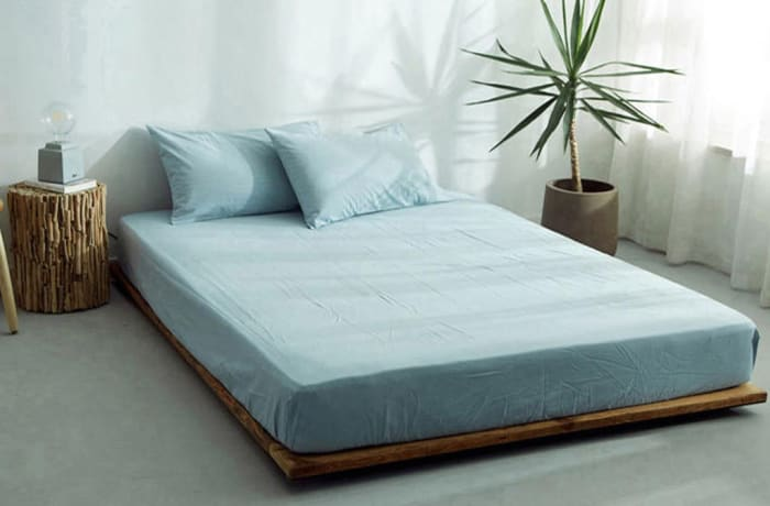 Bed cover sheets 1.5x1.8m  Simmon mattress cover Light blue - 29043311543