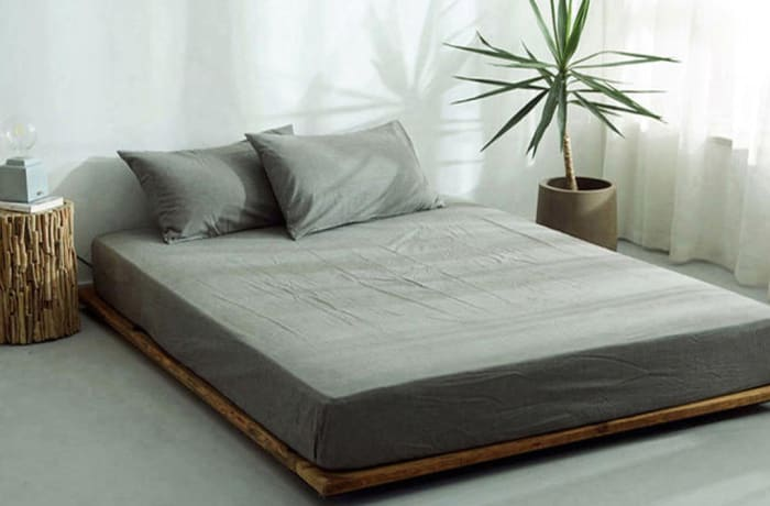 Bed cover sheets 1.5x1.8m  Simmon mattress cover Light brown - 29043311543