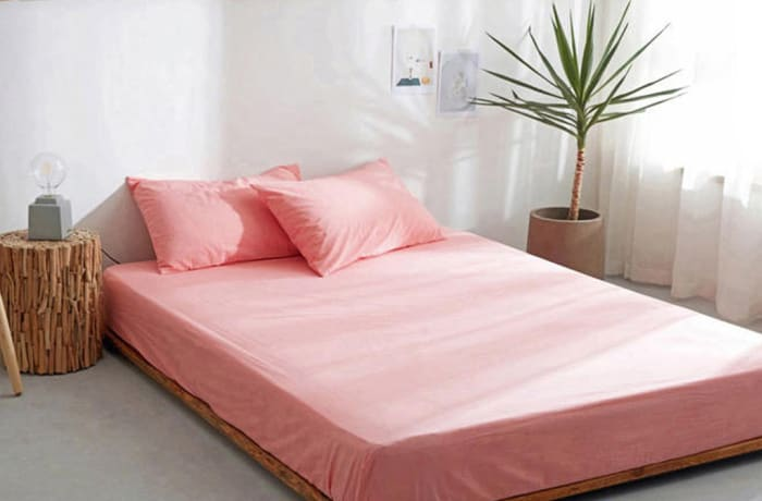 Bed cover sheets 1.5x1.8m  Simmon mattress cover Pink - 29043311543