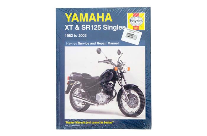 Book - Yamaha XT and SR125 Singles