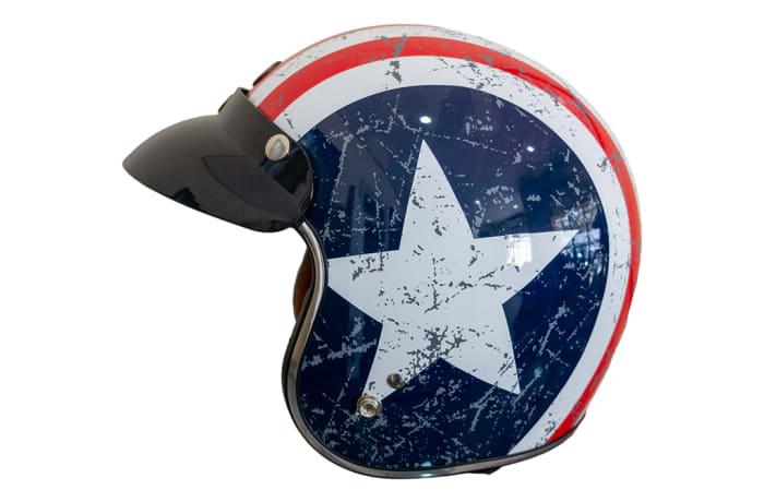 Motorcycle Helmet - TORC Vintage