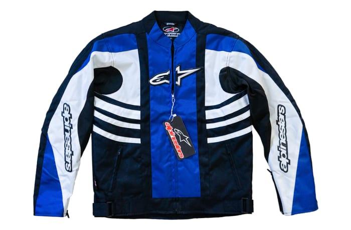 Motorcycle Jacket - Alpinestars blue
