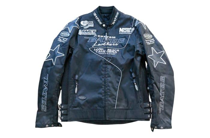 Motorcycle Jacket - Bates Leather Hooker Header Earls Performance