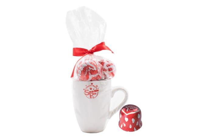 Beyers Sweetie Pie Mug with Vanilla Milk Chocolates