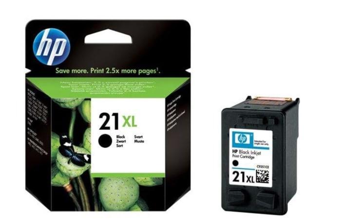 Printer Toner Cartridges - Hewlett Packard HP 21XL Black Toner Cartridge