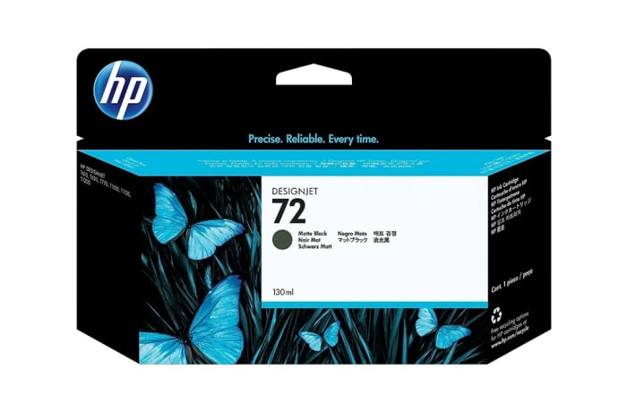Printer Toner Cartridges - Hewlett Packard HP 72 Black Toner Cartridge