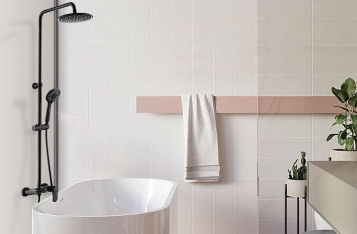 Bathroom shower - Black copper faucet shower set Model  3003S-B