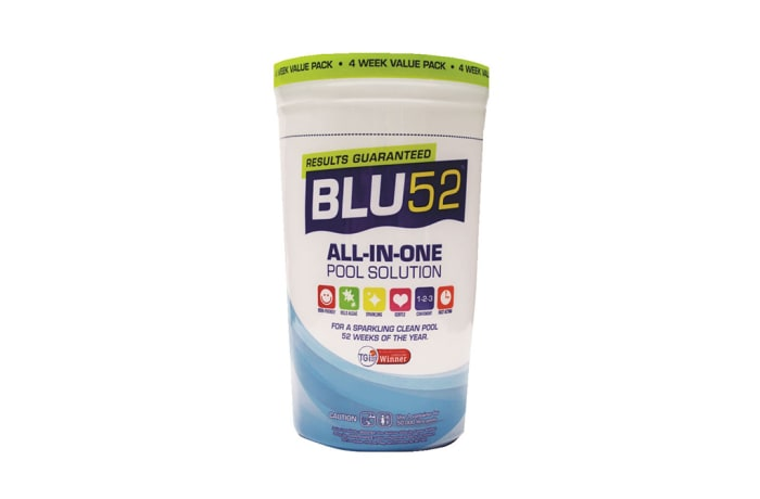 Blue 52 4 week pool treatment system
