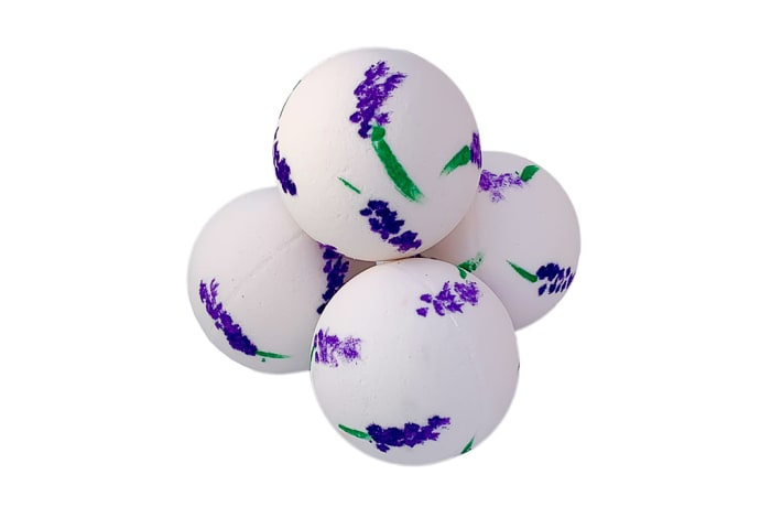 Bodycraft Hand Painted Bath Bombs - Lavender