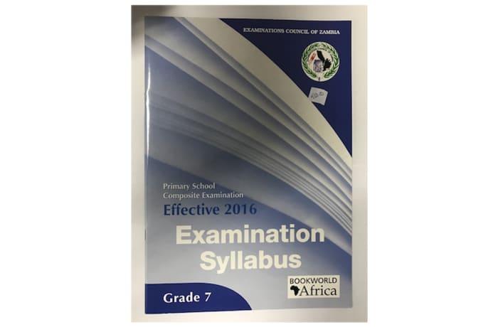 Examination Syllabus Grade 7