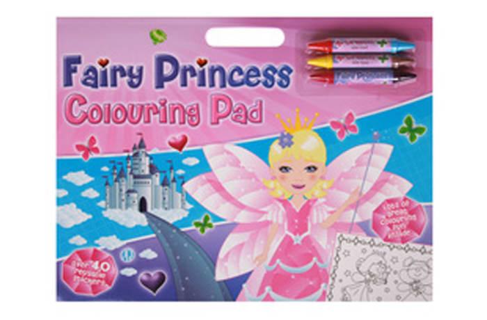 Fairy Princess Colouring Pad