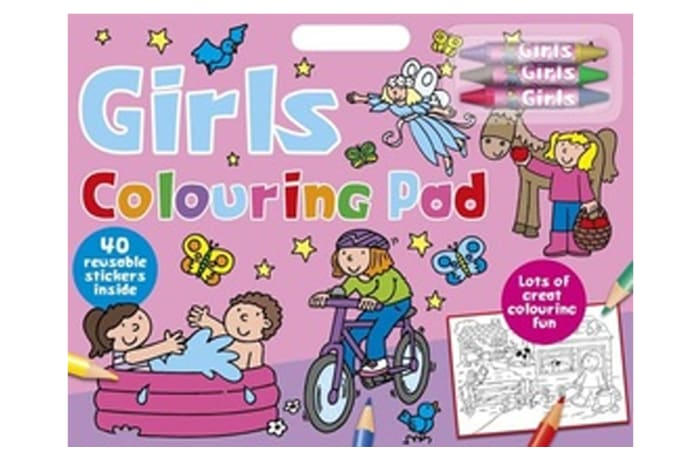 Girls Colouring Pad