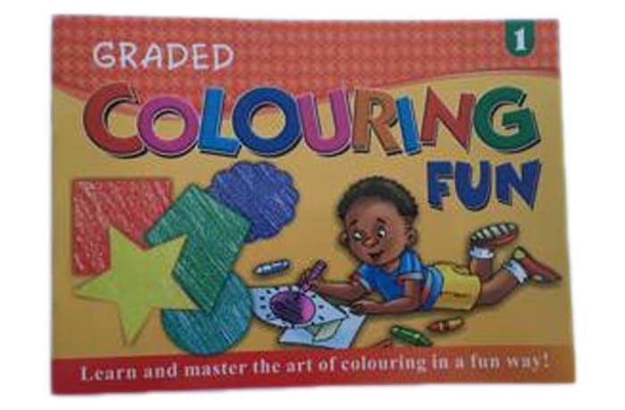 Graded Colouring Fun 1