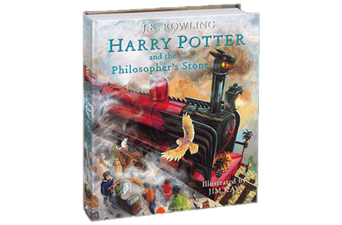 Harry Potter and the Philosopher's Stone Illustrated Edition By J.K. Rowling