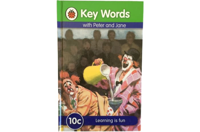 Key Words - With Peter And Jane – 10c Learning Is Fun
