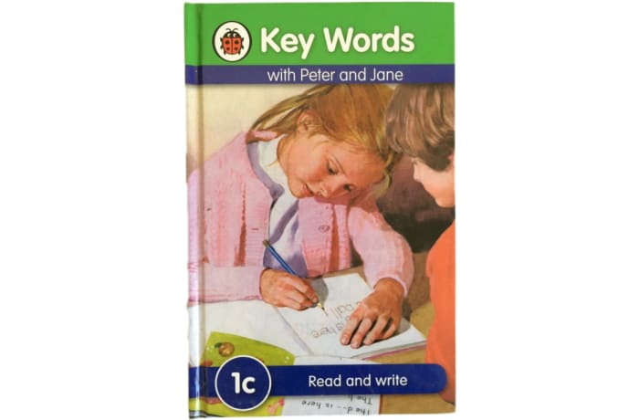 Key Words - With Peter And Jane – 1c Read And Write