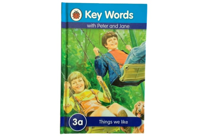 Key Words - With Peter And Jane – 3a Things We Like