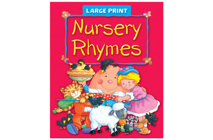 Large Print - Nursery Rhymes