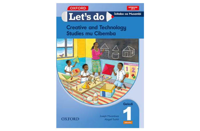 Let's do Creative and Technology Studies Grade 1 Pupil's Book – Icibemba