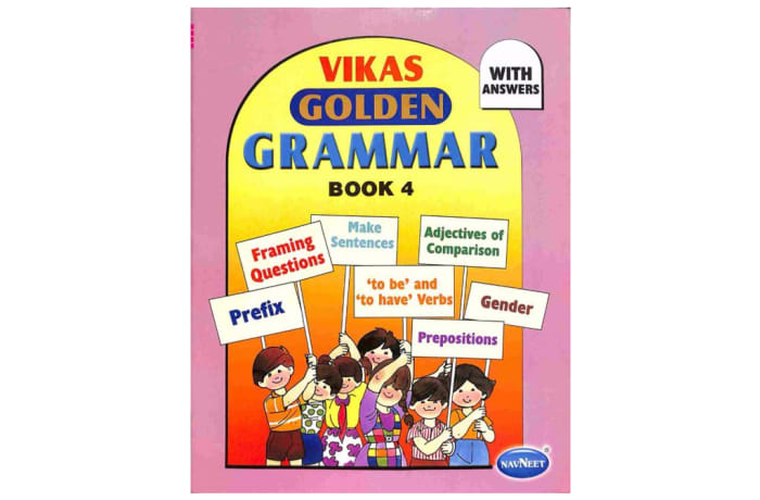 Vikas Golden Grammar Book 4