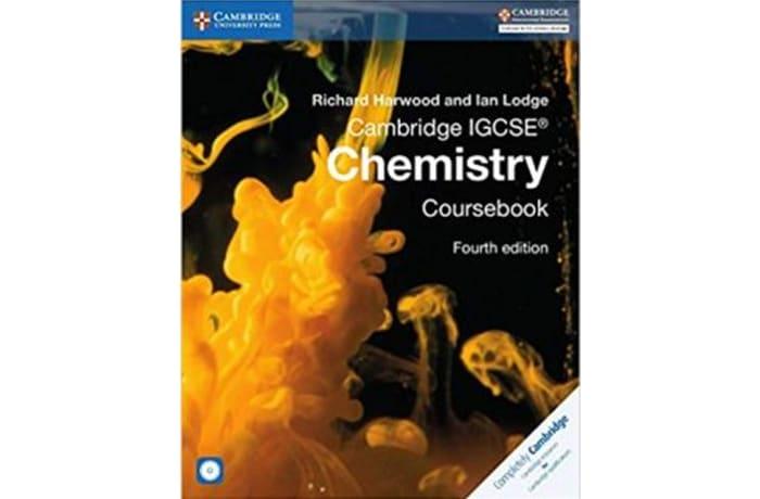 Cambridge IGCSE® Chemistry Coursebook with CD-ROM (Cambridge International IGCSE) 4th Edition