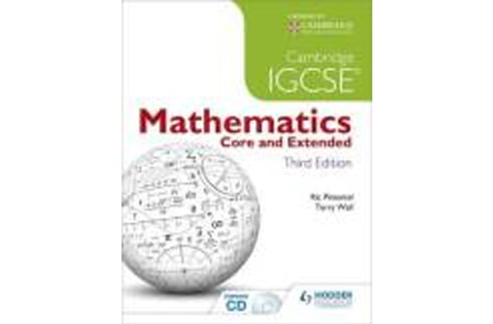 Cambridge IGCSE Mathematics: Core and Extended