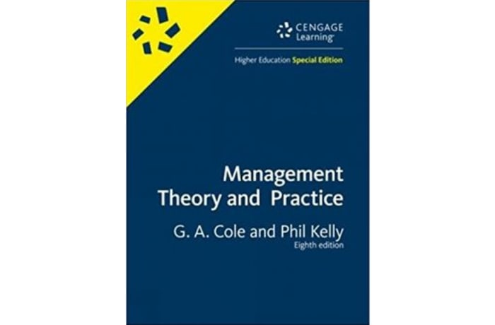 Clhese Management: Theory and Practice 8E