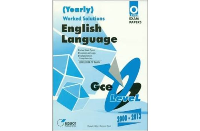 English Language worked solutions (Yearly)
