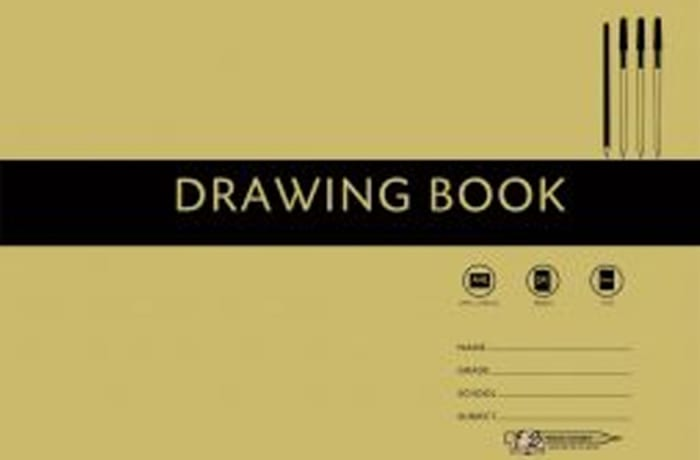 FS A4 Drawing book with tissue 24pg