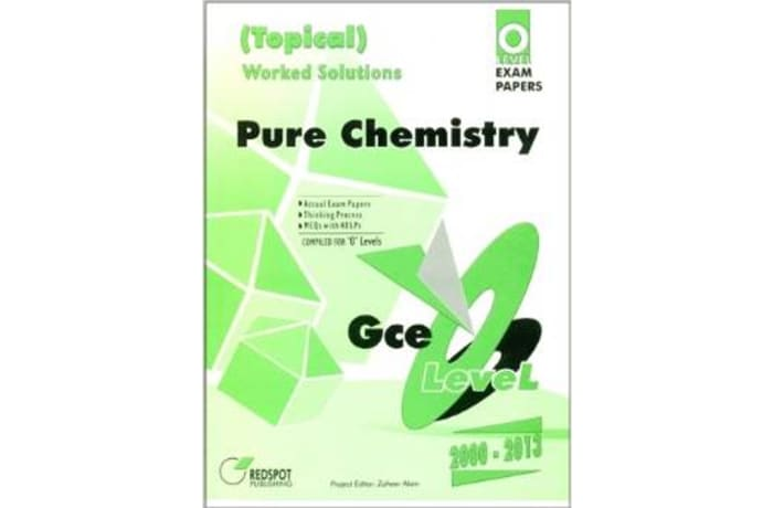 GCE O'Level Pure Chemistry- Topical (Worked Solutions)
