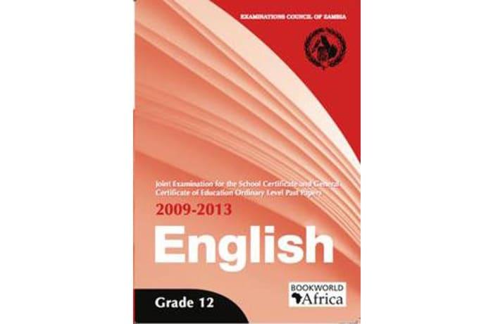 Grade 12 English Language Past Papers 2009-13