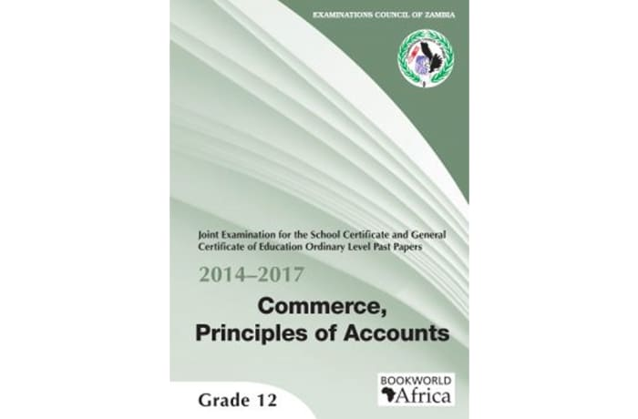 Grade 12 Past Papers 2014-2017 Commerce, Principles of Accounts