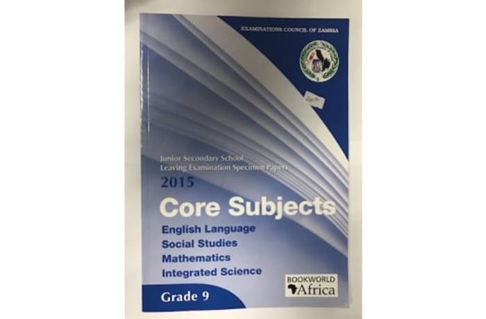 Grade 9 Core Subjects Specimen Papers 2015
