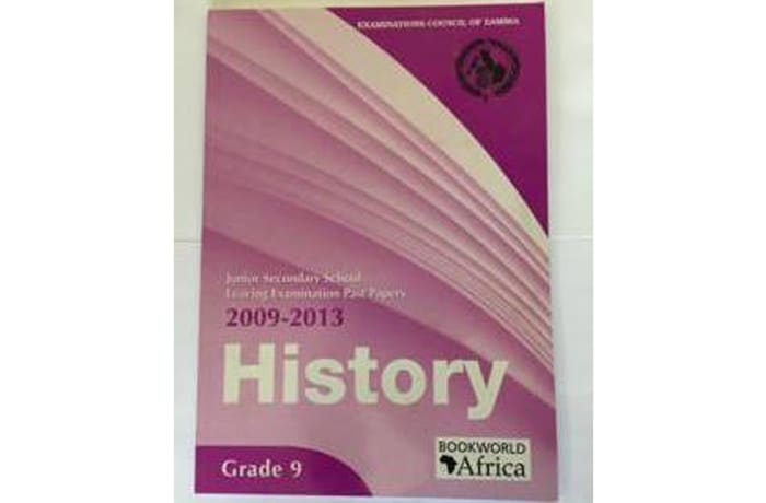 Grade 9 History Past Papers 2009-13