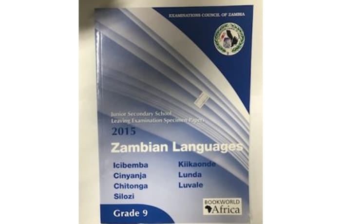 Grade 9 Zambian Languages Subjects Specimen Papers 2015