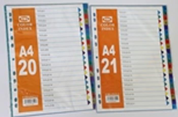 JY-YBL Color index A4 1-20