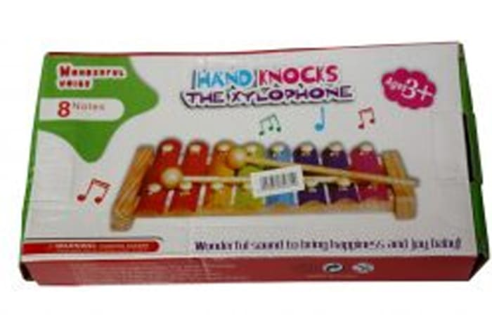 JY – Hand knocks  the xylophone toy