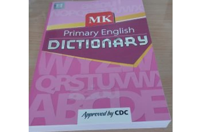 MK Primary English Dictionary