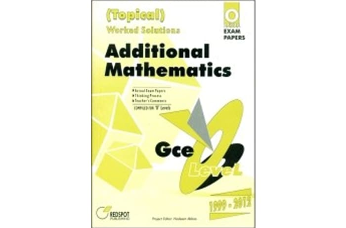 O Level Additional Mathematics (Topical)