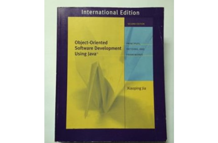 Object Orientated Software Development Using Java