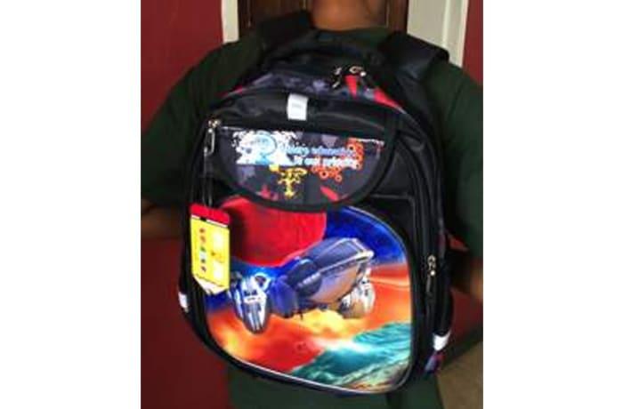 School Bag Star Ship