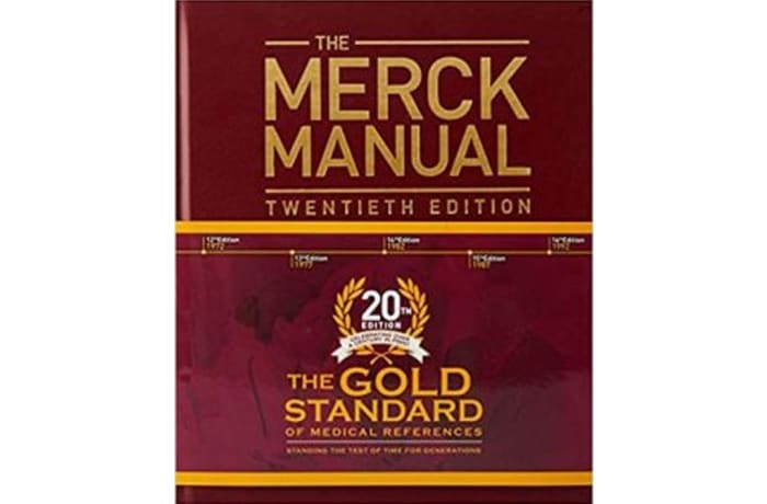 The Merck Manual of Diagnosis and Therapy 20th Edition – Hardcover