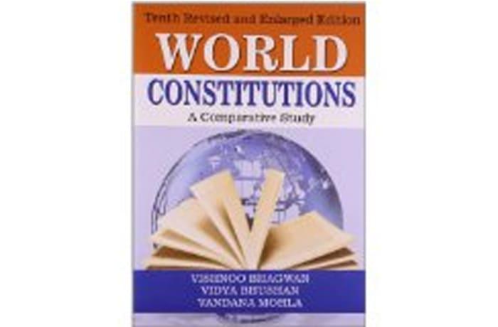 World Constitutions by Bhagwan V