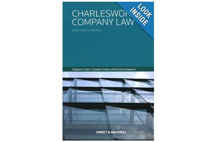 Charlesworth Company Law 18th Edition
