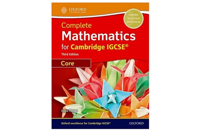 Complete Mathematics for Cambridge IGCSERG Student Book
